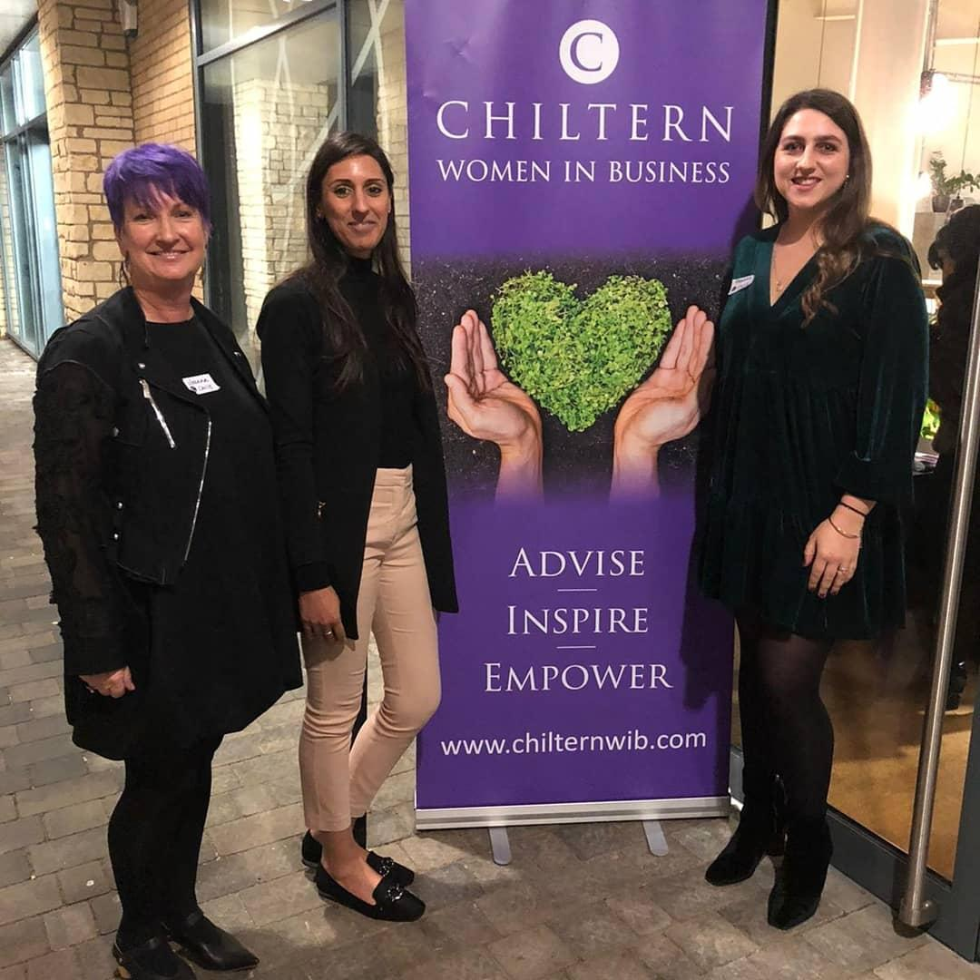 Talking environmental sustainability in business with Chiltern Women in Business Network