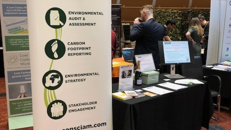 Consciam exhibiting at the Bucks Business First Expo